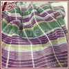 2017 New Design Fabric Stripe Silk Cotton Jacquard Fabric