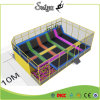 Chinese Factory Supplier Outdoor Trampoline Game for Kids