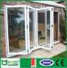 Double Glazing Aluminium Profile Folding Door with Made by Factory