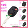 Auto Remote Key for Ford with 3 Buttons 315MHz 4D63 Chip Fo38r