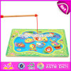 New Design Pretend Play Wooden Fishing Games for Kids W01A189