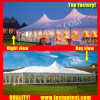 High Peak Mixed Marquee Tent for Party in Size 6X18m 6m X 18m 6 by 18 18X6 18m X 6m