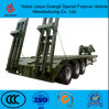 3 Axle 50-60 Tons Low Bed Semi Truck Trailer for Sale