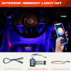 Aftermarket Truck Lights Offroad LED Lights Ring Lights for 15inch Wheels Bluetooth Controller Chasing Combo Automotive Lighting Best Selling Series