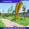 Wholesale Eco-Friendly Digital Printing Beach Flag, Teardrop Flag, Advertising Flag