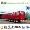 Factory Supply Fence Cargo Semi Trailer for Livestock Transport