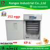 Holding 352 Eggs Poultry Chicken Egg Incubator Hatchery Machine
