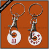 Fashion Trolley Token Key Chain for Promotional Gift (BYH-10405)