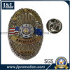 High Quality Customer Design Police Badge with Printing Insert