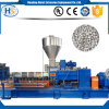 PP PE Granules Making Machine/Twin Screw Plastic Pellet Extruder