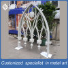 Customized Stainless Steel Dcoration White Window for Outdoor Mosque