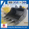 Excavator Skeleton/Standard/Rock Bucket for cleaning The River