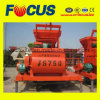 Js750 750L Twin Shaft Concrete Mixer with High Quality