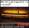 55inch Light Bar Emergency Vehicle LED Warning Lightbar 104W