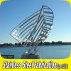 Custom Design Laser Cut Stainless Steel Sculpture Abstract
