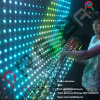 Soft Transparent LED Grid Flexible Wall Display Curtain Screen