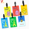Cartoon PVC Travel Luggage Tag Personalized Customed Luggage Tag