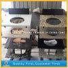 Prefabricated White/Yellow/Giallo Kitchen Designs with Granite/Marble Countertops (G664, G439, G655, G682)