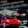 Android GPS Navigation Box for Toyota Prius 2016 4th Gen Video Interface WiFi Waze Youtube Pioneer Unit