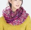 Womens Hood Wrap Multiple Style Neck Warmer Thick Winter Knitted Scarf Loop Snood (SK125)