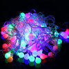 LED Ball String Light Different Size Customize Length Waterproof