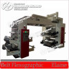 Flexographic 4 Color LDPE Film Letterpress Printing Machinery