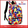 Waterproof Printed Oxford School/Travel/Sports Backpacks Bag for Outdoor