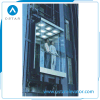 1000kg Observation Lift with Square Glass Passenger Elevator Cabin