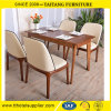 Commercial Solid Wood Furniture Dining Table and Chairs