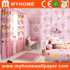 Children Room Decorative Wall Paper with Pink/Blue/Yellow/Gree Colors