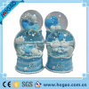 Resin Lovely Blue Sheep Snow Globe for Decoration