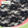 Sexy Black Stretch Nylon Lace Fabric for Underwear