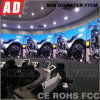 Ade Tech China Newest Flexible LED Curtain for Trade Show Digital LED Curtain