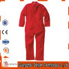 Factory OEM 100% Cotton Red Anti-Acid Coverall