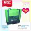Imee Printing Logo Non-Woven Fabric Cutom Foldable Supermarket Shopping Recycle Bag