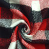 Checked Fleece Fabric, Herringbone Fabric for Jacket, Garment Fabric, Textile Fabric, Clothing