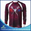 Custom Sublimation Boy′s Lacrosse Shooter Sports T Shirts