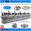 Sap-102A Five Colors Automatic Silk Screen Printing Machine for Plastic Bottles