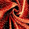 High Quality Polyester Silk Chiffon Fabric with Fashion DOT Print for Long Dress