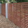 Composite Backyard Fence--Can Provide Fence Door Designs, Realistic Texture