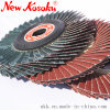 "4"" Soft and Flexible Flap Disc for Wood, Aluminum and Stainless Steel"