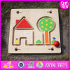 2016 Newest Kids Wooden Maze Game, Top Popular Baby Wooden Maze Game, Cheap Children Wooden Maze Game W11h015