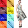 40mm Floral Custom Design Screen Printed High Quality Silk Crepe De Chine Fabric