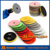 "4"" Diamond Flexible Wet Polishing Pads Floor Grinding"