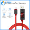 LED Digital Display Micro USB Fast Charging Cable Micro USB for Samsung Galaxy A6 A7 2018 M10 A10 Huawei Android Phone Cord Wire