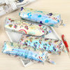 Unicorn Mermaid Pencil Case Holographic Laser Pen Bag Student Large Capacity PU Waterproof Pen Box School Stationery