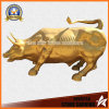 Bronze Carving Sculpture Wall Street Bull Bronze Sculpture