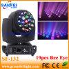 Stage Light 19PCS Bee Eye LED Moving Head