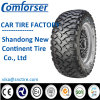 Mud Terrain Comforser Tire for SUV, Radial PCR Passenger Car Auto Tire SUV Tire