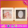 2016 Wholesale Wooden Baby Photo Frame, Cheap Wooden Baby Photo Frame, Lovely Wooden Baby Photo Frame W09A042